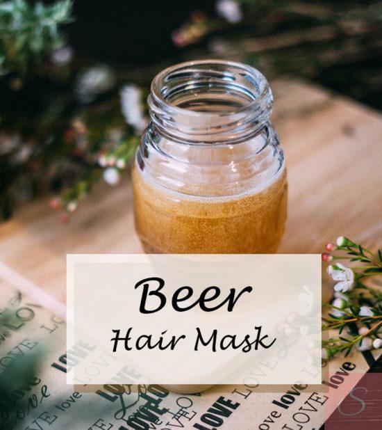 Beer Hair Mask