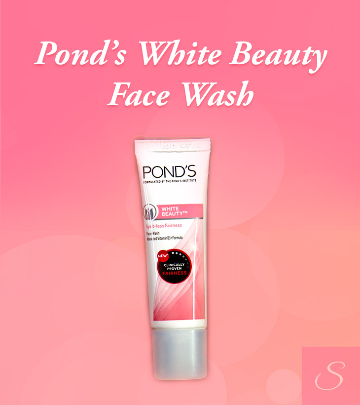 Pond's White beauty Face Wash Review