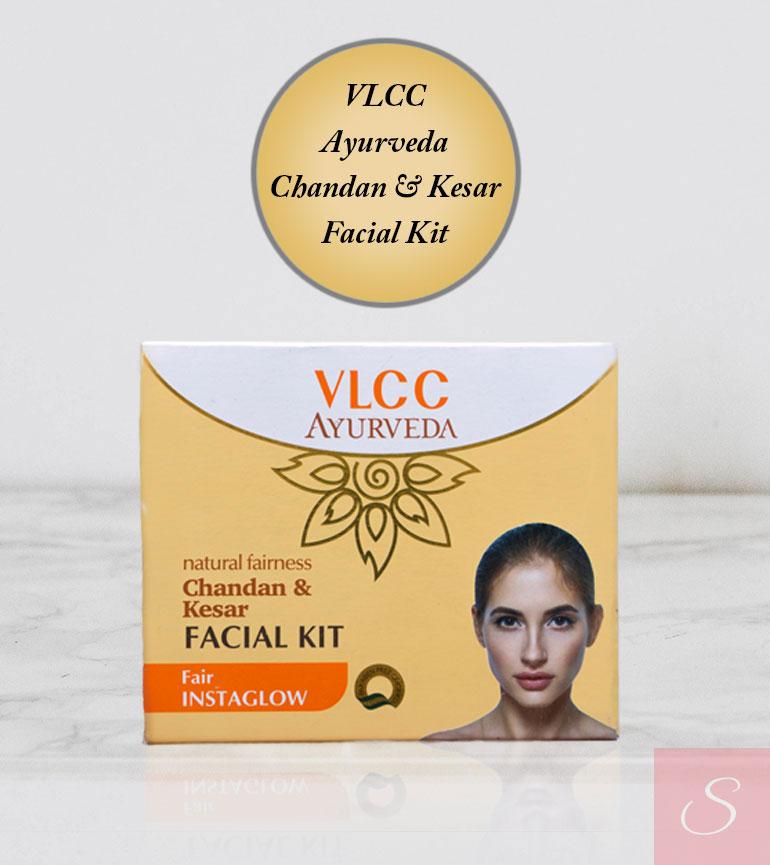 VLCC Ayurveda Chandan & Kesar Facial Kit