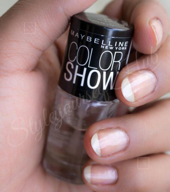 Color Show Crystal Clear Nail Polish