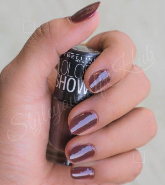 Color Show Choco Sin Nail Polish