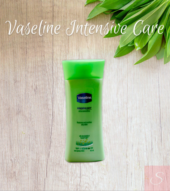 Vaseline Intensive Care Aloe Soothe Body Lotion