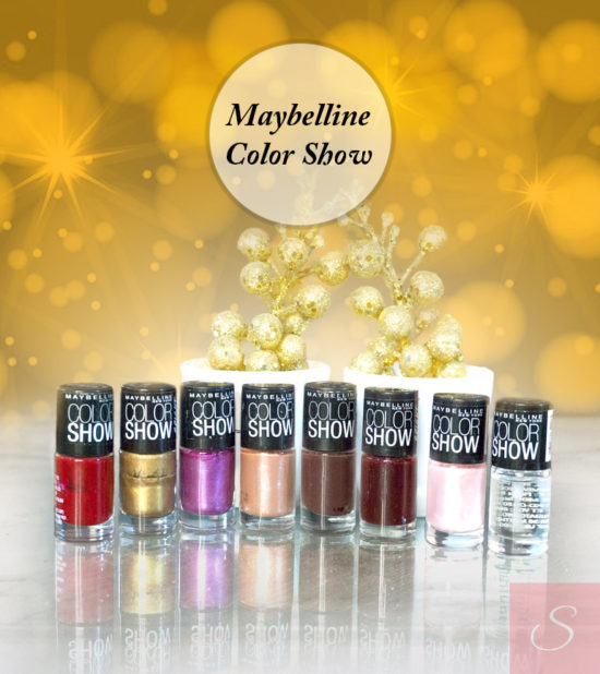Maybelline Color Show Nail Polish Review with Swatches