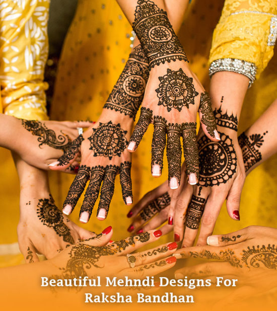 Beautiful Mehndi Designs for Raksha Bandhan