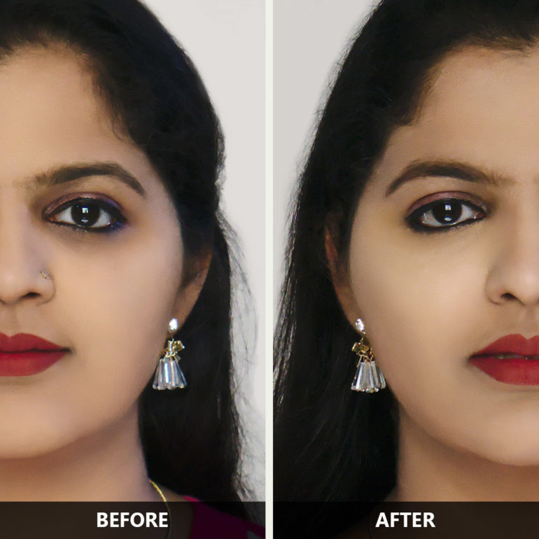 Sugar Magic Wand Concealer Before After