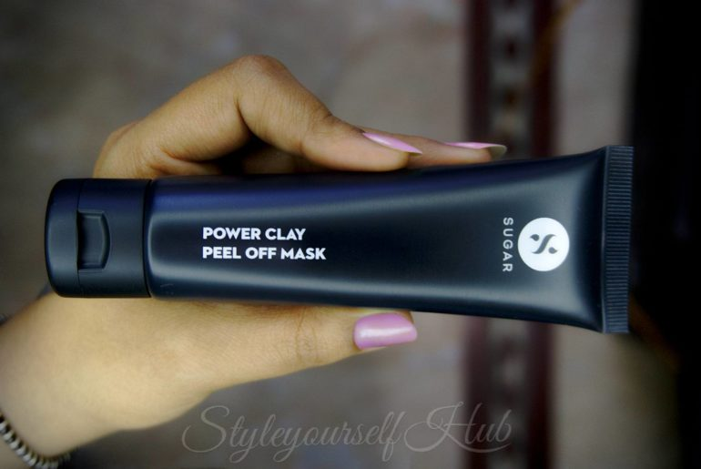 Sugar Cosmetics Power Clay Peel Off Mask
