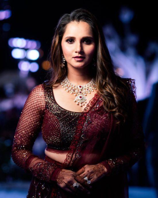Sania Mirza Most Beautiful Women in India
