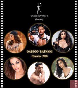 Dabboo Ratnani Calendar 2020