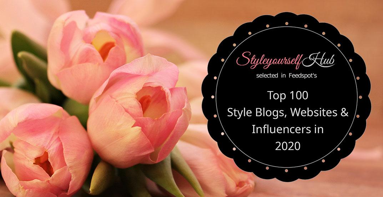 styleyourselfhub in feedspot Top 100 Style Blogs