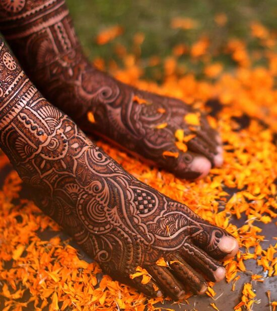 Beautiful Foot Mehndi Designs