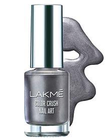 grey-lakme-color-crush-nail-polish