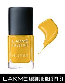 Lakme Absolute Yellow Nail Polish