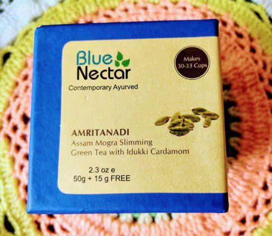 Blue Nectar Amritanadi Assam Slimming Green Tea