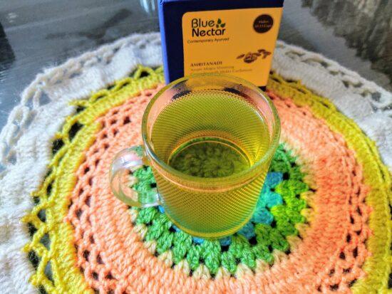 Prepared Blue Nectar Slimming Green Tea