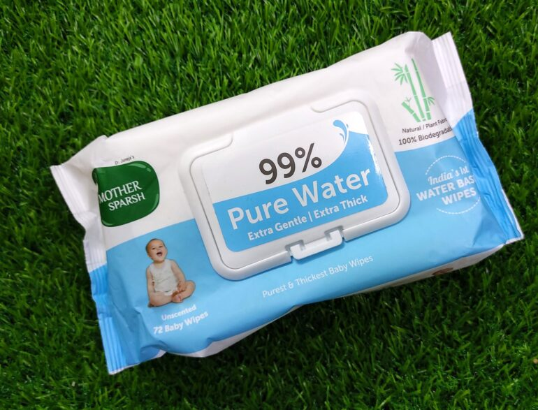 Mother Sparsh Unscented 99% Water Baby Wipes