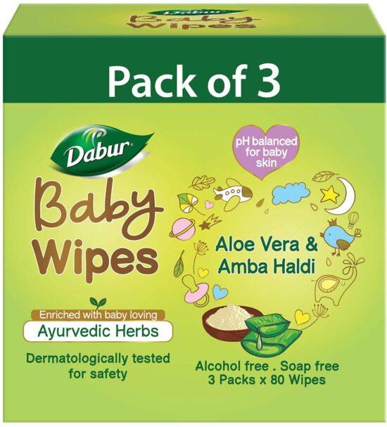 dabur baby wipes