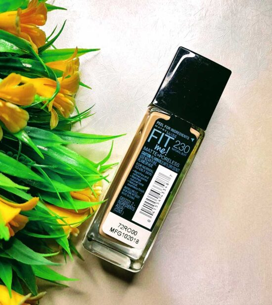 Maybelline Fit Me Foundation 230